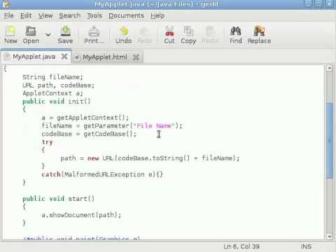 java-applet-tutorial-#7-loading-documents