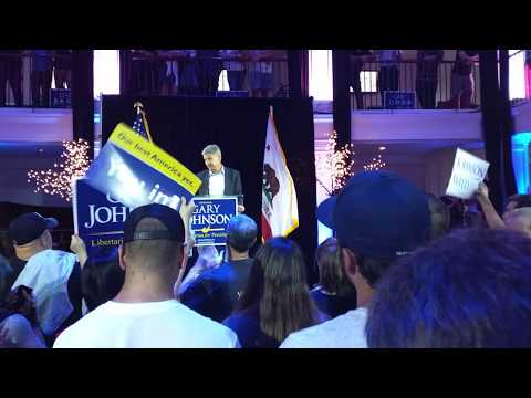 Gary Johnson 2016 Rally in Hollywood