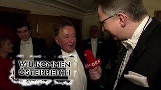 Peter Klien beim Opernball | Willkommen Österreich [720p50]