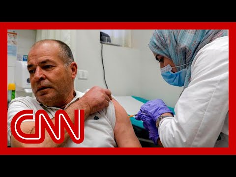 Vaccination rates highlight divide between Israelis and Palestinians