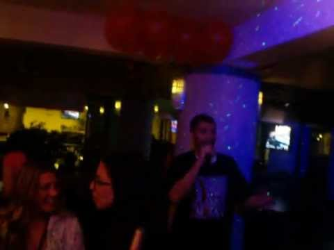 the UPstairs live karaoke in NYC #2 by sam mun.mp4