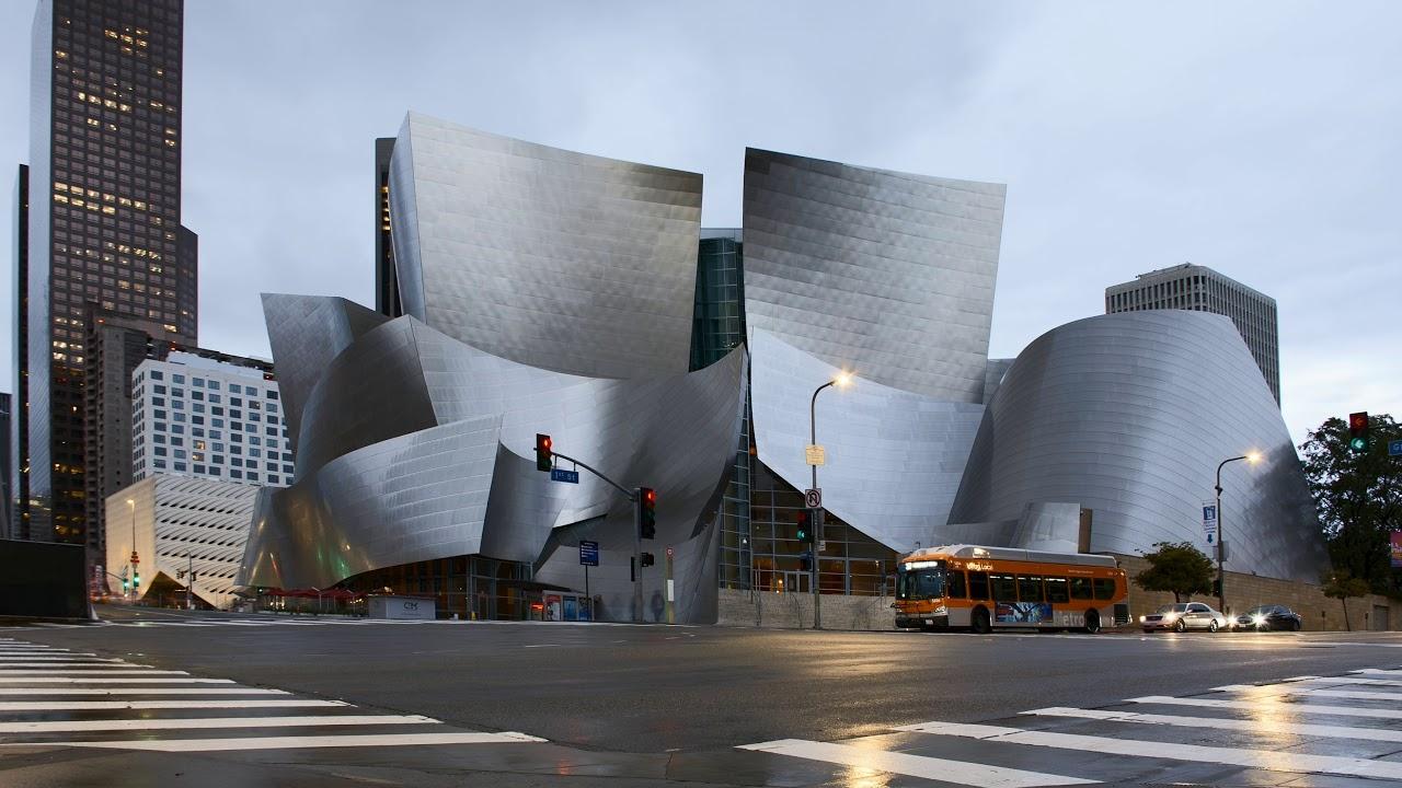 The Walt Disney councert Hall in #dtla #losangeles