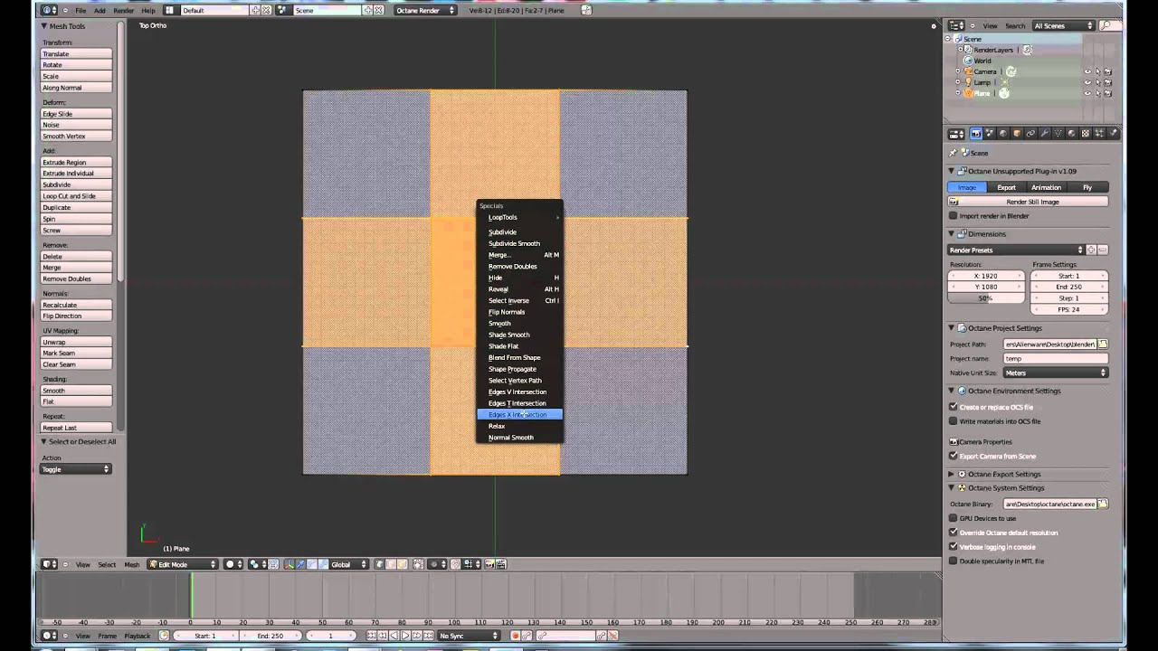 blender how to join text to
