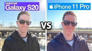 Galaxy S20 vs iPhone 11 Pro! Camera Test Comparison