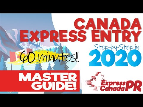 CANADA EXPRESS ENTRY 2020   Master Guide & Complete Step By Step Immigration Process