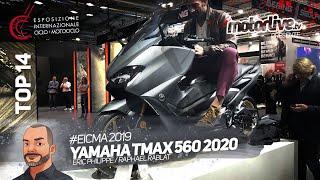 YAMAHA TMAX 560 2020 | EICMA 2019