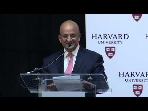 Harvard John A. Paulson School of Engineering and Applied Sciences Naming Ceremony
