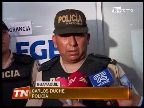 Policía recuperó camión robado, uno de los ochos asaltantes fue detenido