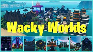*NEW* WACKY WORLDS | FFA | Fortnite Creative Map | (Code in Description) #Fortnite #FortniteCreative