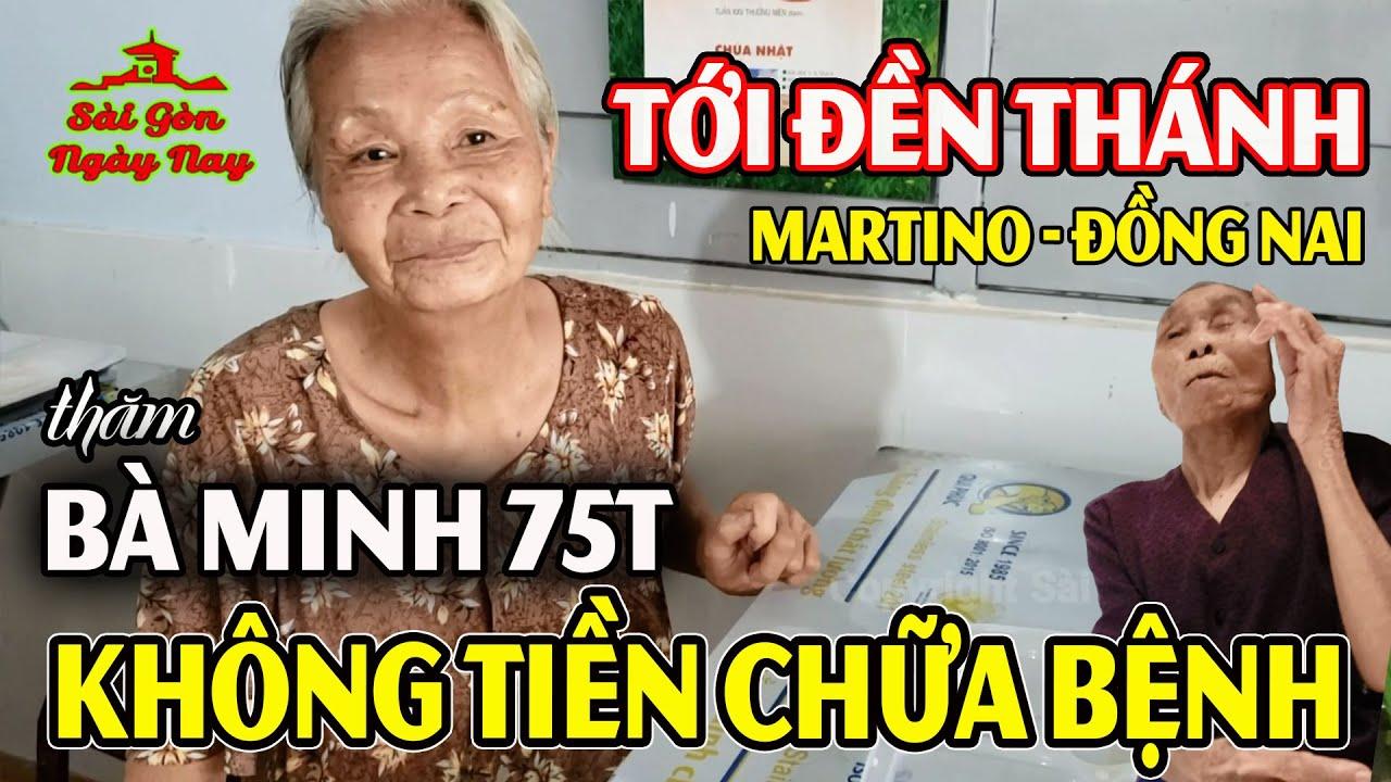 Tới đền thánh Martin trao quà cho người già bất ngờ gặp cụ bà 100 tuổi thích ăn CHUỐI #SGNN