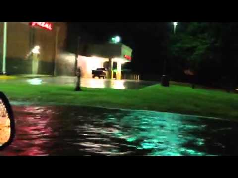 Flooded Youree Drive Shreveport La  3-8-16