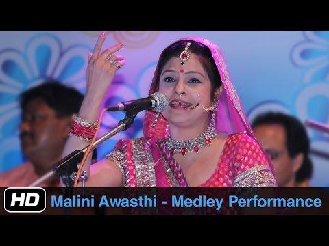 Folk songs by Malini Awasthi | Medley | Bhojpuri Folk Songs | Idea Jalsa | Art and Artistes