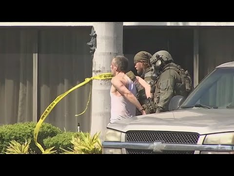 SWAT standoff at Florida hotel ends with suspect in custody