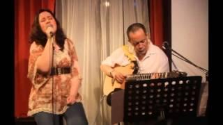 """LILET JODLOMAN-ESTEBAN sings """"Warrior is a Child"""" with JESSIE JODLOMAN in GOSPEL JAM"""