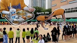 Korean high school sports day vlog