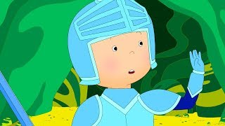Caillou is a Knight | Fun for Kids | Videos for Toddlers | Full Episode | Cartoon movie
