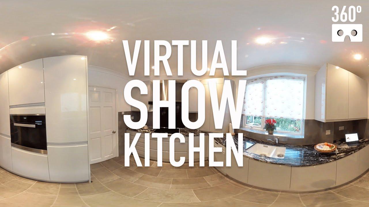 360º Virtual Reality Show Kitchen - VR 360 video - Ream Kitchens ...