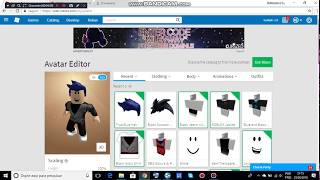 How to make Goku black clothes on ROBLOX without robux!!!