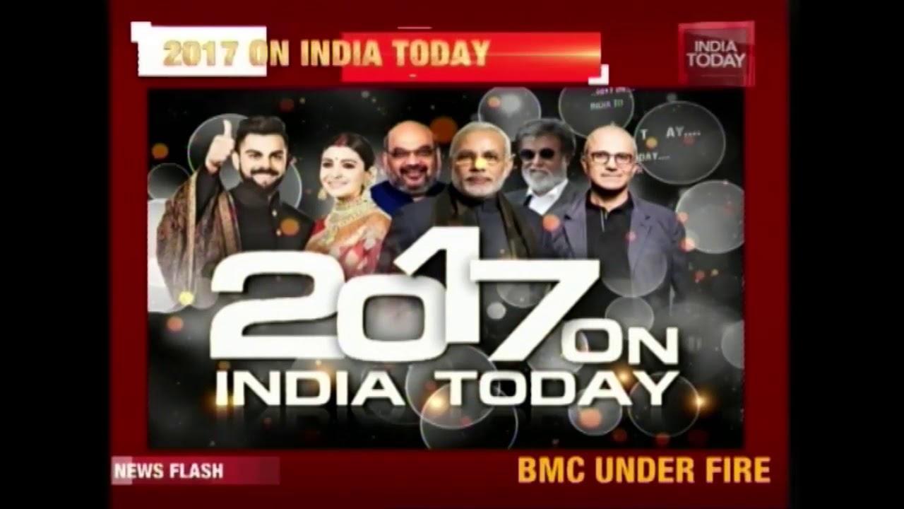 Big Political Speakers On India Today In 2017   Modi, Mamata, Chidambaram, Jaitley & More  
