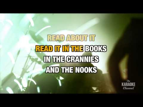 Sowing The Seeds Of Love in the style of Tears For Fears | Karaoke with Lyrics