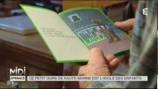 VU D'ICI : Ce petit ours de Haute-Marne est l'idole des enfants
