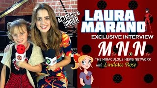 Laura Marano & Lindalee Discuss Miraculous Ladybug Mnn Ep.5