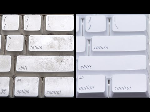 Dirty Keyboard Cleaning (ASMR)