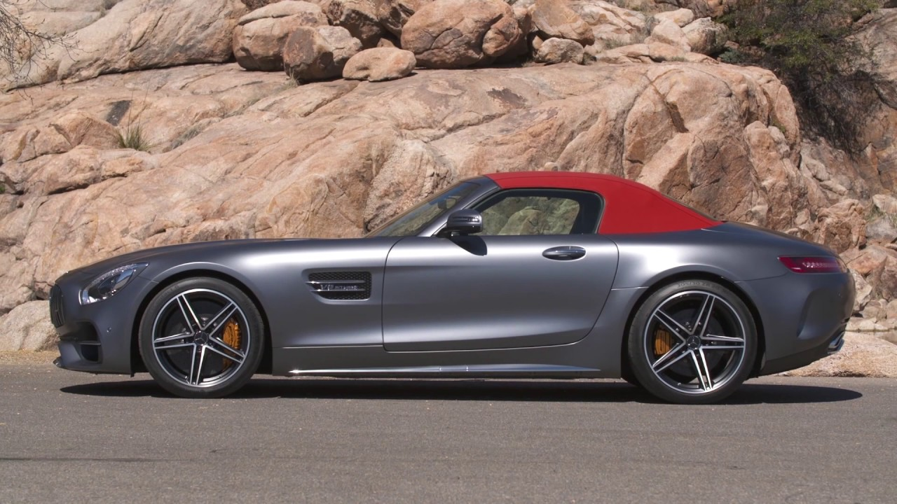 2018 mercedes amg gt c roadster first drive youtube. Black Bedroom Furniture Sets. Home Design Ideas