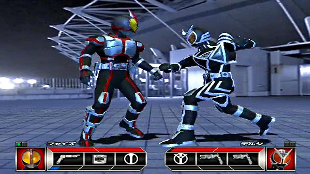 Kamen Rider 555 Ps2 Kamen Rider Faiz Challenge Mode Part3 Youtube