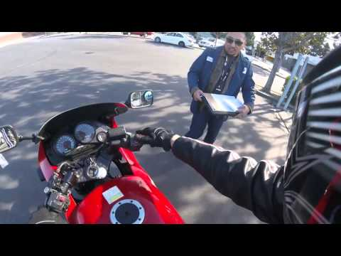 How to pass the california dmv motorcycle skill test easily!