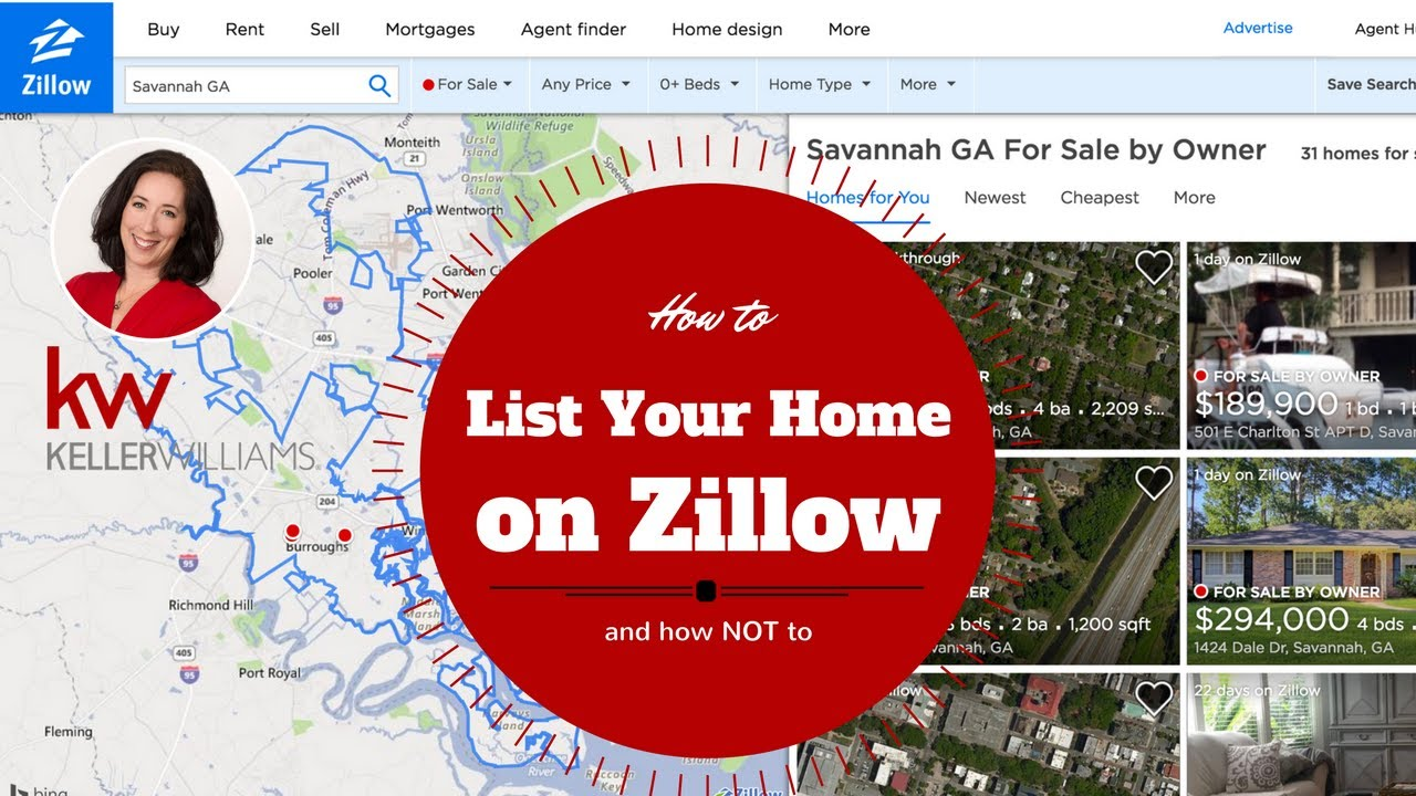 How To List Your Home On Zillow And Not