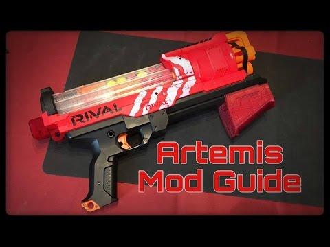 Mod Guide: Nerf Rival Artemis Enhancements