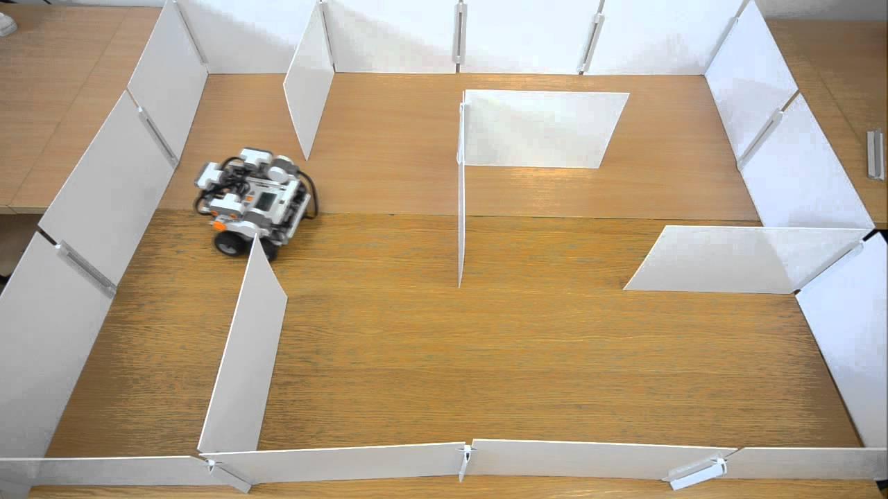 Maze solving robot Lego Mindstorms / Robot eksplorujcy ...