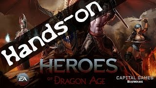 Heroes of Dragon Age im Hands-on