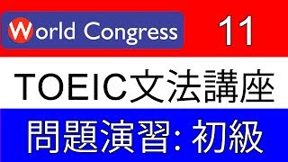 TOEIC_文法_問題演習_初級_11 thumbnail