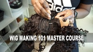 Wig Making 101| HOW TO MAKE WIGS FOR MONEY MASTER COURSE