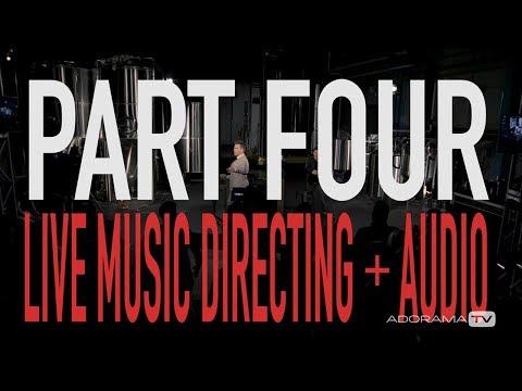 Making Late Night TV  Part 4:  Directing Music + Audio