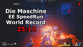 Die Maschine Solo Easter Egg Speed Run World Record 25:12 By Scottiei3