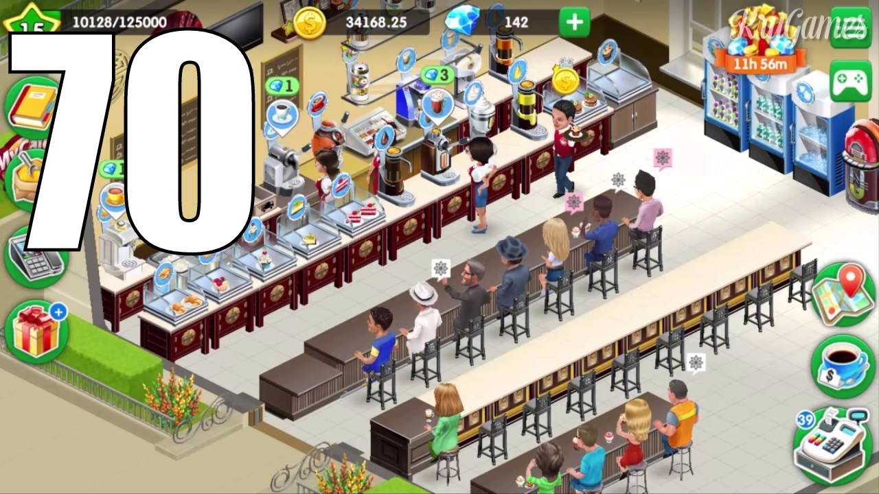my cafe recipes stories android gameplay 70 level 15 youtube. Black Bedroom Furniture Sets. Home Design Ideas