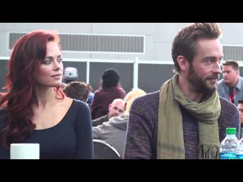 NYCC 2013: Sleepy Hollow Press Room Interview: Katia Winter and Tom Mison