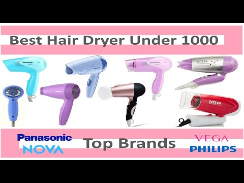 Top 10 Best Hair Dryer Under Rs.1000 | Top Brands | Foldable & Cool Shoot Hair Dryer | 2017