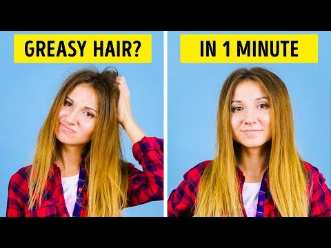 25 HAIR HACKS TO BE READY IN 5 MINUTES