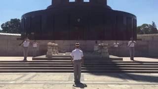 Memorialul Eroilor Neamului - Parcul Carol, Bucuresti - schimbare de gada