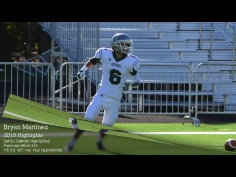 Bryan Martinez 2015 Highlights - DePaul Catholic High School Freshman #6/JV #15