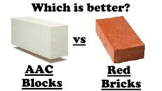 Difference between AAC Block Masonry & Brick Masonry