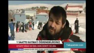 elmadağ kayak merkezi doldu taştı 24 01 2016