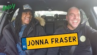 Bij Andy in de auto VIP - Jonna Fraser
