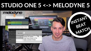 How to detect and map Tempo with Melodyne 5 #S1withGregor