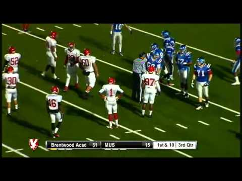 Football Semifinal- Brentwood Academy vs. Memphis University School