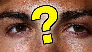 Угадай футболиста по глазам. Месси, Криштиану Роналду, Златан.